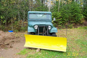 1963 Jeep Willys with Fisher Plow