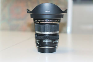 10-22 MM Canon Ultra Wide Angle Lens