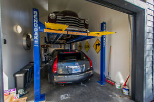 BendPak Car Storage lift