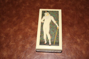 Vintage Schmid Musical  Jewelry box