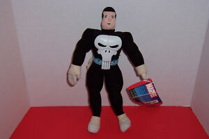 Punisher 12 inch plush figure with tags