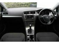 2015 Volkswagen Golf 1.6 TDI 105 Match 5dr DSG Auto Hatchback Diesel Automatic