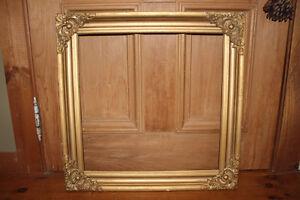 Vintage Large Wooden Frame #6