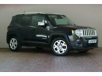 2016 Jeep Renegade 1.4 Multiair Limited 5dr DDCT Auto Estate Petrol Automatic