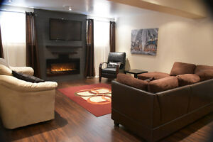 Beautiful Fully Furnished Basement Suite ***AVAILABLE OCT 1***