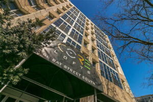 Large 1 bedroom condo for lease at the Core Lofts!