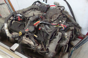 350 V8 Auto Engine and Transmission