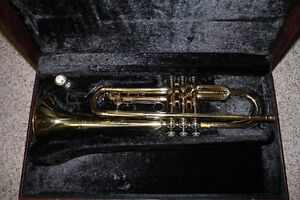 trumpet (with case)
