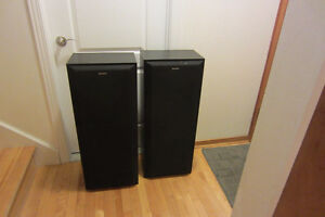 Sony SSC 420AV 3-Way tower speaker system.220W.t.514-996-9207.