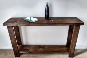 Solid Wood Console Tables $199.99-$224.99