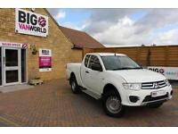 2016 MITSUBISHI L200 DI-D 4X4 4LIFE CLUB CAB PICK UP DIESEL