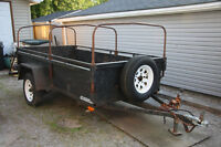 1999 ADVANTAGE UTILITY TRAILER 8 X 4