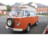 Volkswagen Classic Devon T2 Campervan - 4 Berth - Poptop For Sale