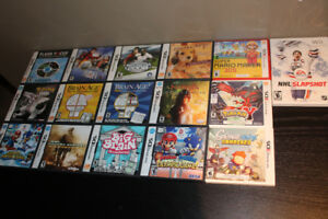 Assorted DS/Wii Games