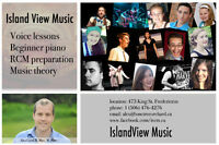Intro piano and voice lessons