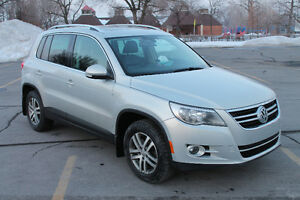 2009 Volkswagen Tiguan Highline 4 motion Navi.