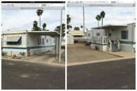 For sale 12x60. Mobile home 55+ park Yuma Arizona