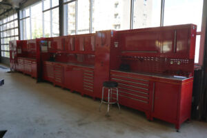 Tool boxes, Tool storage stations, Electric vehicle lifts + MORE