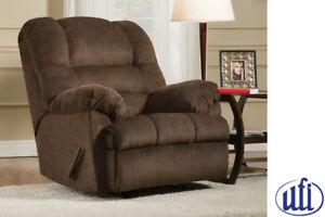Chocolate Brown Microfibre Recliner