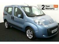 2013(62) FIAT QUBO 1.3 MYLIFE SWITCH UPFRONT WHEELCHAIR ACCESSIBLE WAV AUTO