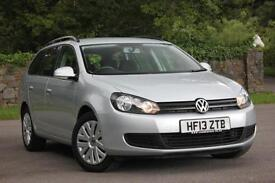 2013 VOLKSWAGEN GOLF S TDI BLUEMOTION ESTATE DIESEL