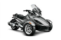 New / Non-Current 2013 Can Am Spyder ST
