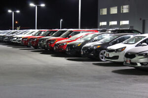 LED Lighting for Parking Lots, Streets, Offices, and Warehouses