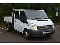 2.2 T350 RWD 2D 124 BHP DOUBLE CAB TWIN WHEEL COMBI TIPPER 2013