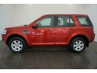 2013 RED LAND ROVER FREELANDER 2 2.2 TD4 GS DIESEL CAR FINANCE FR £201 PCM