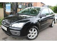 2006 (56 Plate) Ford Focus 1.6 SPORT 3 Dr Long MOT Low Mileage Finance Available