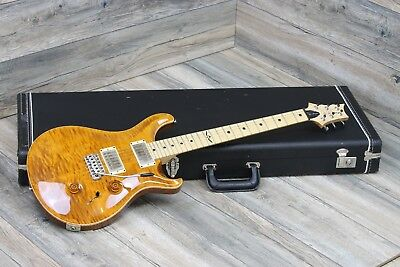 2007 Prs Johnny Hiland Signature Model Electric Guitar In Amber Flame Top