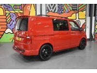VW TRANSPORTER T6 T30 SWB 2.0TSI 204 DSG HIGHLINE KOMBI SPORTLINE PK CHERRY RED
