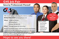 G4S Security is Hiring Security Guards - Career Fair