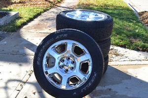 4 Pirelli Scorpion ATR Tires - P275/65/R20 on Ford Factory Rims