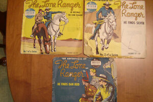 45 RPM records of The Lone Ranger