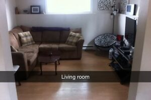 Two bedroom basement apartment available August 1st