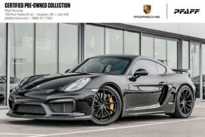 2016 Porsche Cayman GT4 -Clean CARFAX, LOW KMS, CPO!
