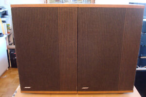 Superbe Bose 501 Series IV Direct/Reflecting Speakers - Rare