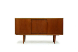Scandinavian MCM Teak Credenza Made in Denmark