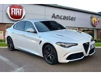 2020 Alfa Romeo Giulia 2.9 V6 BiTurbo Quadrifoglio 4dr Auto Semi-Auto Saloon Pet