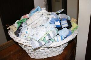 Basket of clothing