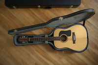 Washburn D10S12 Acoustic 12-String - Case included