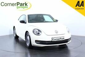 2014 VOLKSWAGEN BEETLE DESIGN TDI BLUEMOTION TECHNOLOGY HATCHBACK DIESEL
