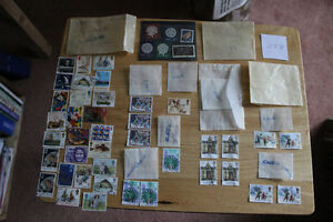 British Stamps - Various used Commemoratives + German Stamps