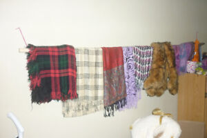 Scarf Display / With Scarf Collection