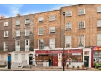 All Bills included - Large Mezzanine studio apartment in Leigh Street, Bloomsbury, London WC1H