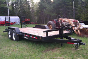 18 ft Anderson Equipment Trailer
