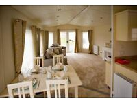 New 13ft wide static caravan for sale Northamptonshire - long owners season 11.1 months
