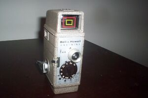 Vintage 8mm Sunometer camera with light bar (for interior)
