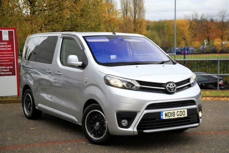 7ce720bb9f 2018 Toyota Proace Verso 2.0D (150bhp) Family (L0)(s s) Diesel silver Manual